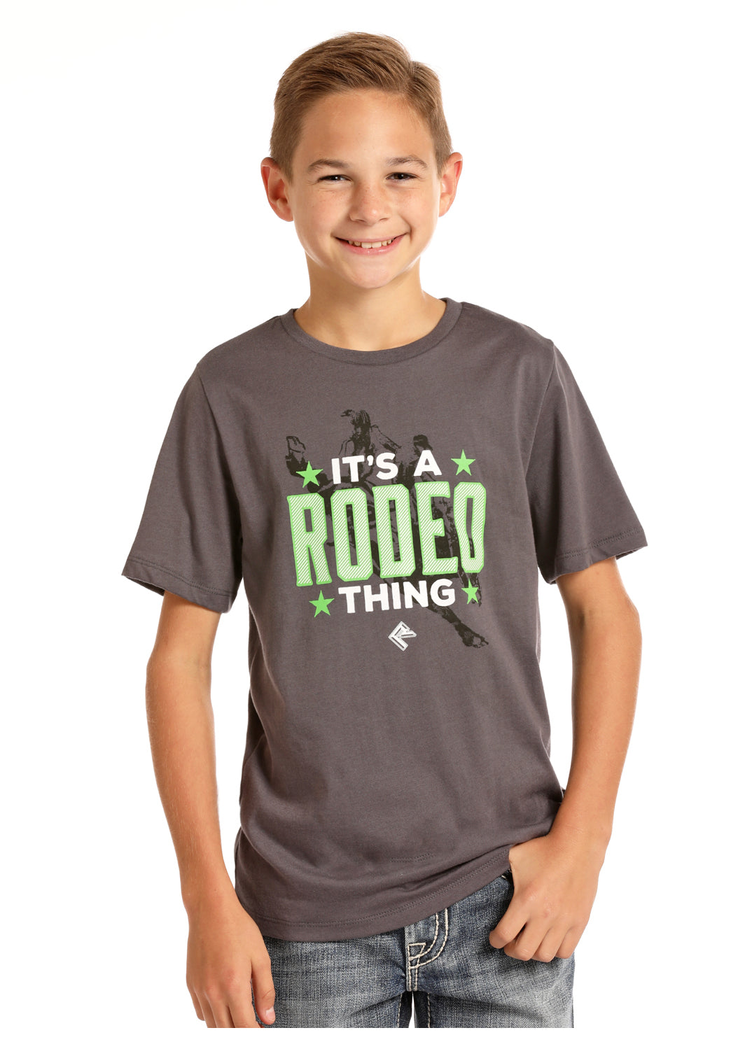 Boy's Rock & Roll Cowboy T-Shirt #P3T6359