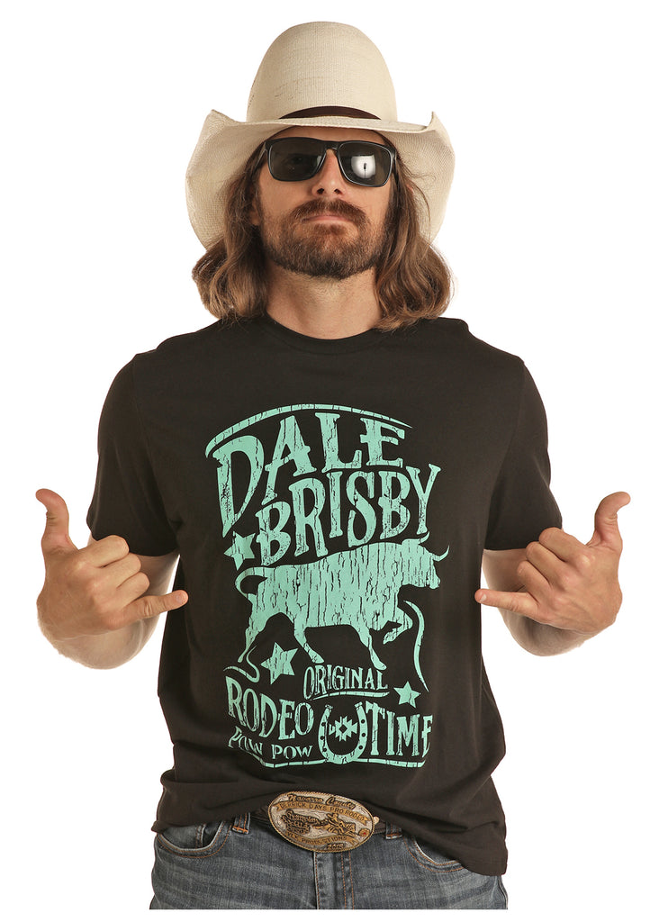 Men's Dale Brisby by Rock & Roll Cowboy T-Shirt #P9-5523