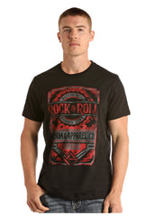Men's Rock & Roll Cowboy T-Shirt #P9-9000
