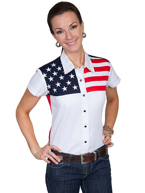 Women's Scully Snap Front Shirt #PL-756SS