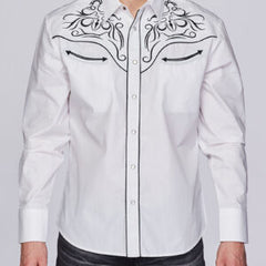 Men's Rodeo Clothing Snap Front Shirt #PS500-501