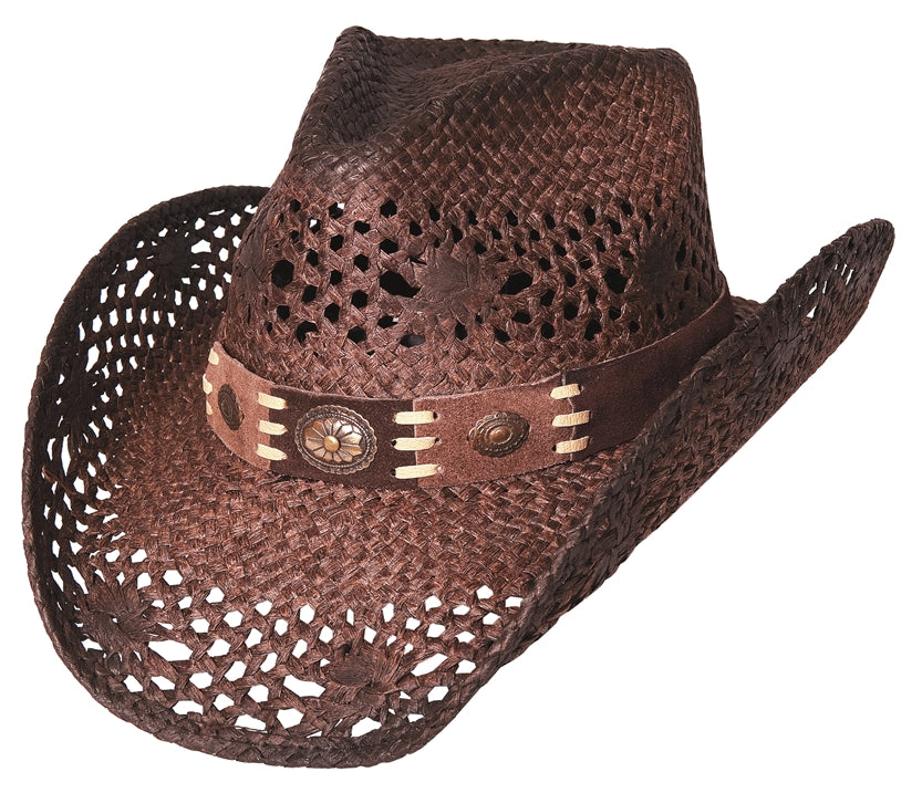 Bullhide Pure Country Straw Hat #2534BRN