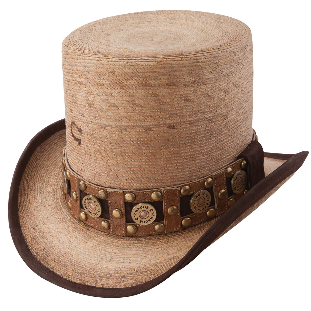 Charlie 1 Horse Quick Draw Straw Hat #CSQKDR-1124FB