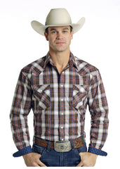 Men's Rough Stock Snap Front Shirt #R0S6389