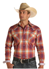 Men's Rough Stock Snap Front Shirt #R0S8489