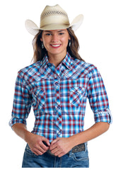Women's Rough Stock Snap Front Shirt #R4S5769