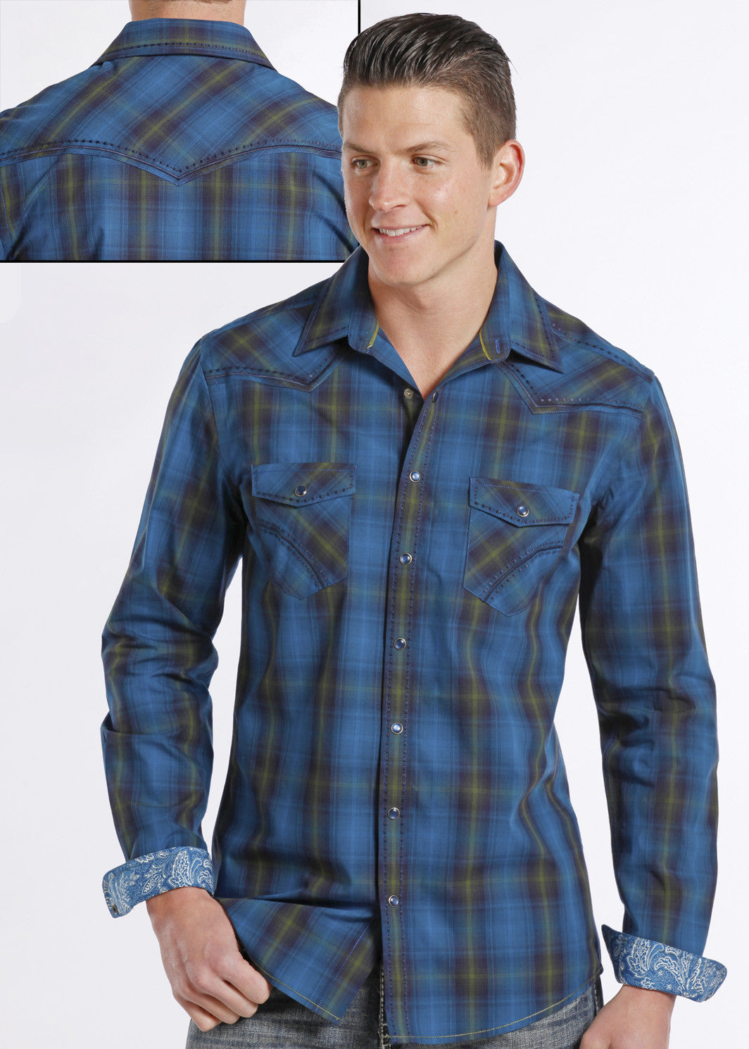Men's Rough Stock Snap Front #R8S8007-C