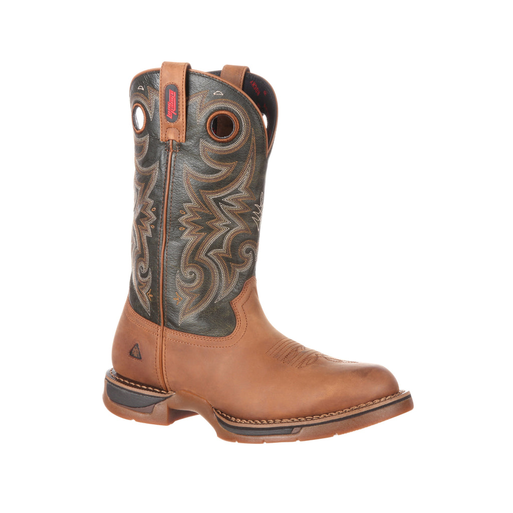 Men's Rocky Long Range Waterproof Western Boot #RKW0188
