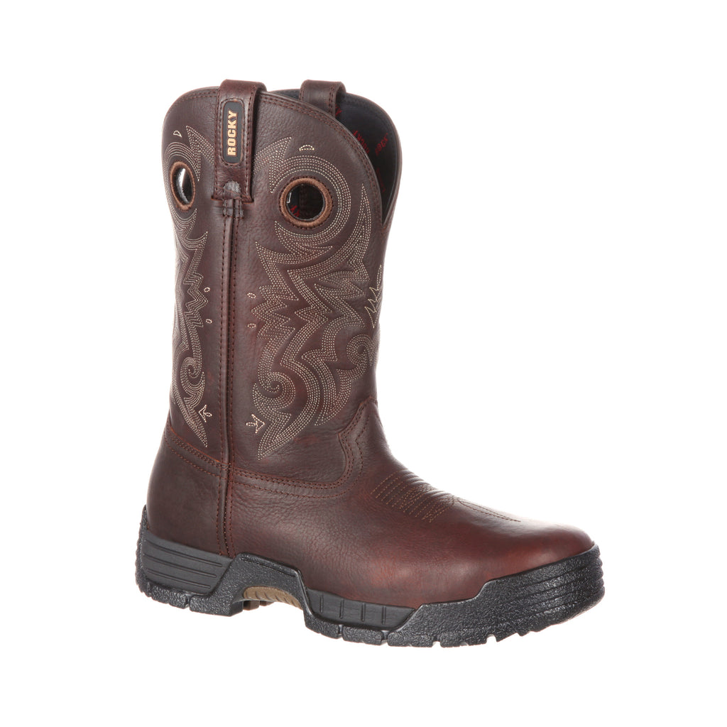 Men's Rocky Mobilite Composite Toe Waterproof Western Work Boot #RKW0197