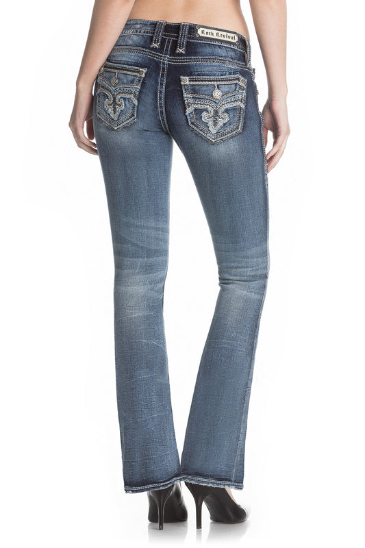 Women's Rock Revival Jean #RP2542B202-C