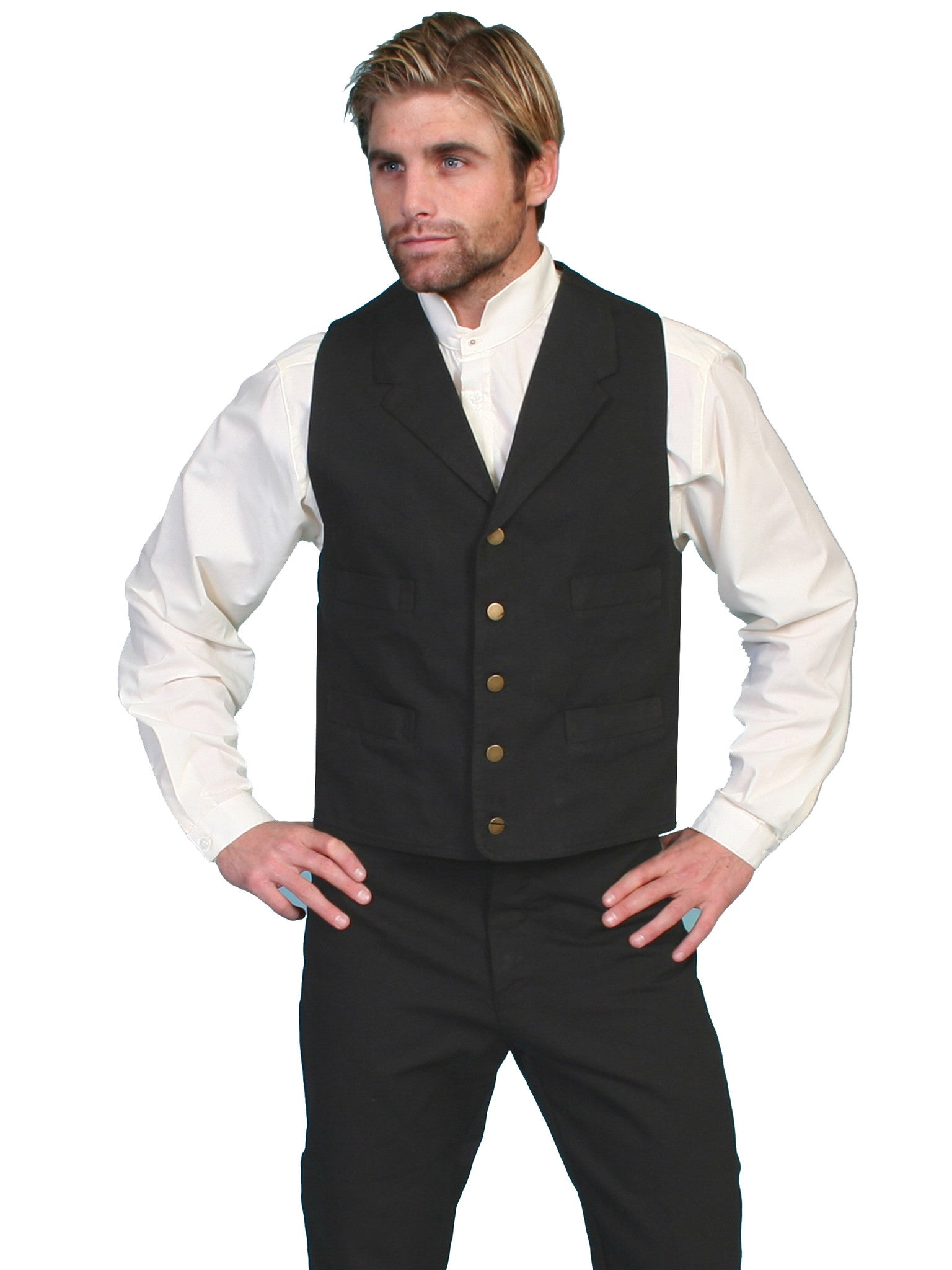 Men's Rangewear by Scully Vest #RW041BLK (Big and Tall)