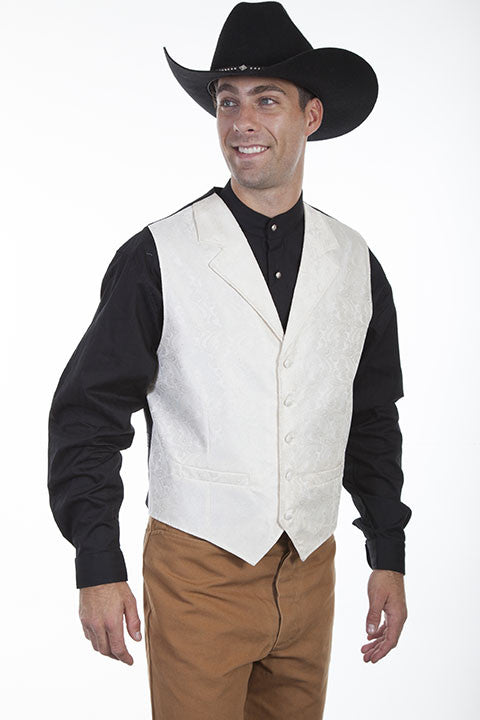Men's Rangewear by Scully Vest #RW093CRM
