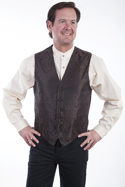 Men's Rangewear by Scully Vest #RW093NBRN