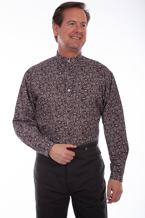 Men's Scully Button Down Shirt #RW325BRN