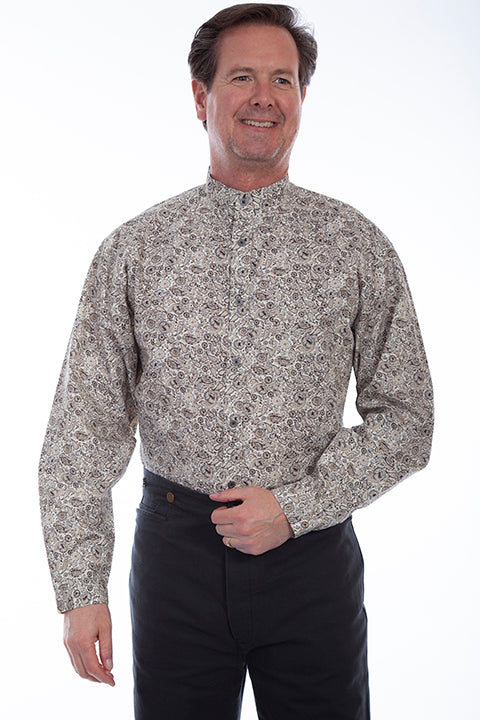 Men's Scully Button Down Shirt #RW329BRN
