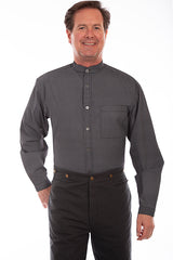 Men's Scully Button Down Shirt #RW331BLK