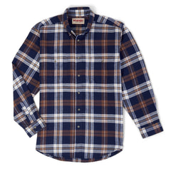 Men's Wrangler Rugged Wear Button Down Shirt #RWFL3BL