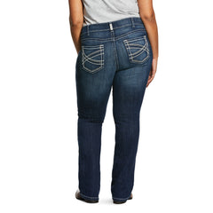 Women's Ariat R.E.A.L Boot Cut Jean #10017510X (Plus Sizes)