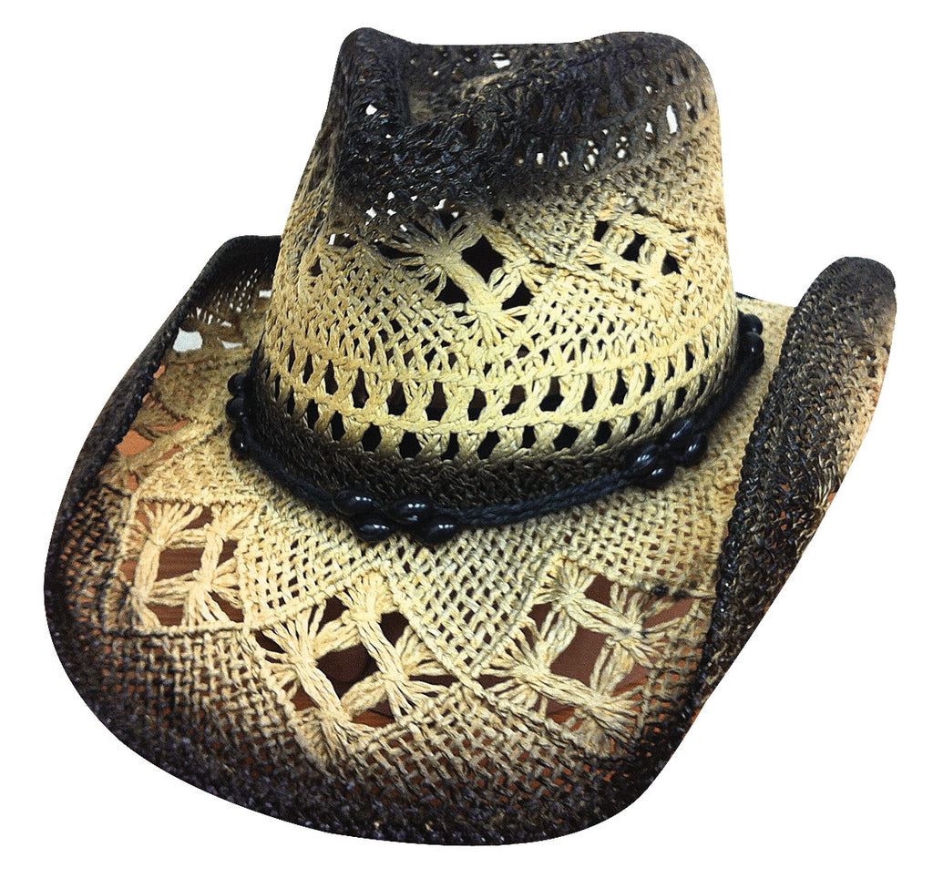 Bullhide Scorched Straw Hat #2355BL