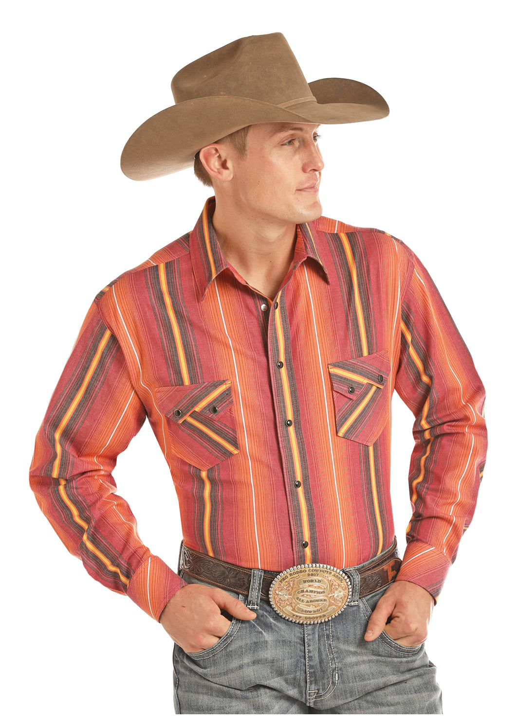 Men's Tuf Cooper Snap Front Shirt #TCS2604