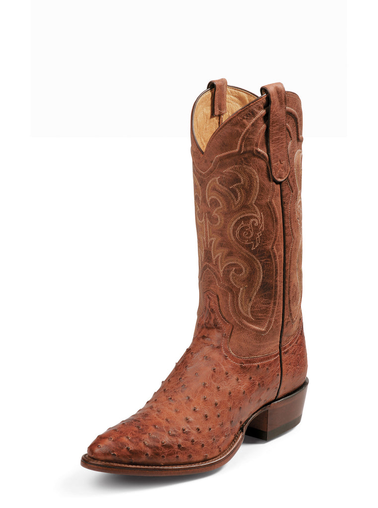 Men's Tony Lama Full Quill Ostrich Western Boot #8963