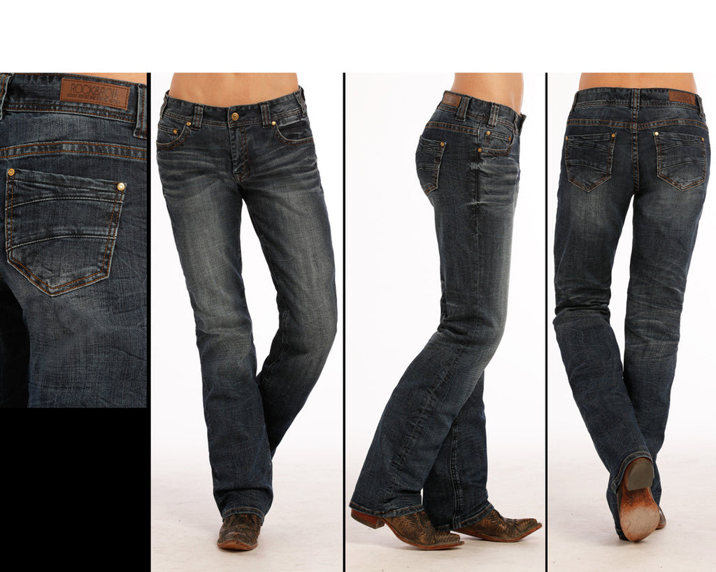 Women's Rock & Roll Cowgirl Riding Jean #W7-9626