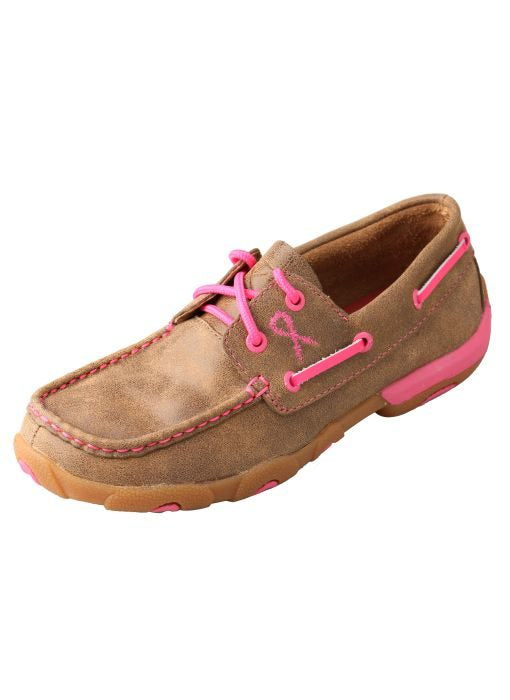Women's Twisted X TETWP Boat Shoe Driving Moc #WDM0018