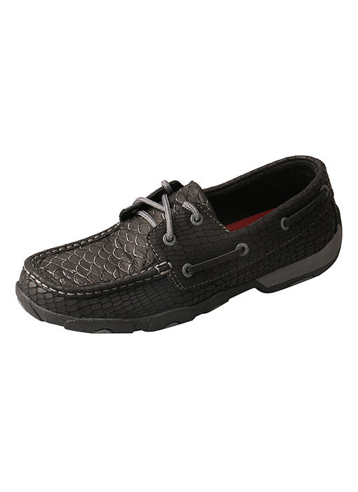 Women's Twisted X Boat Shoe Driving Moc #WDM0088-C