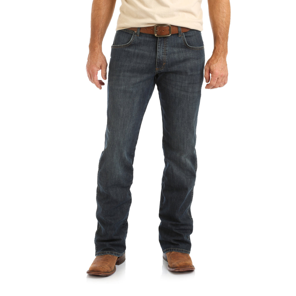 Men's Wrangler Retro Relaxed Boot Cut Jean #WRT20FL