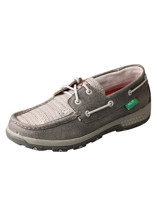 Women's Twisted X Boat Shoe Driving Moc with CellStretch #WXC0007-C
