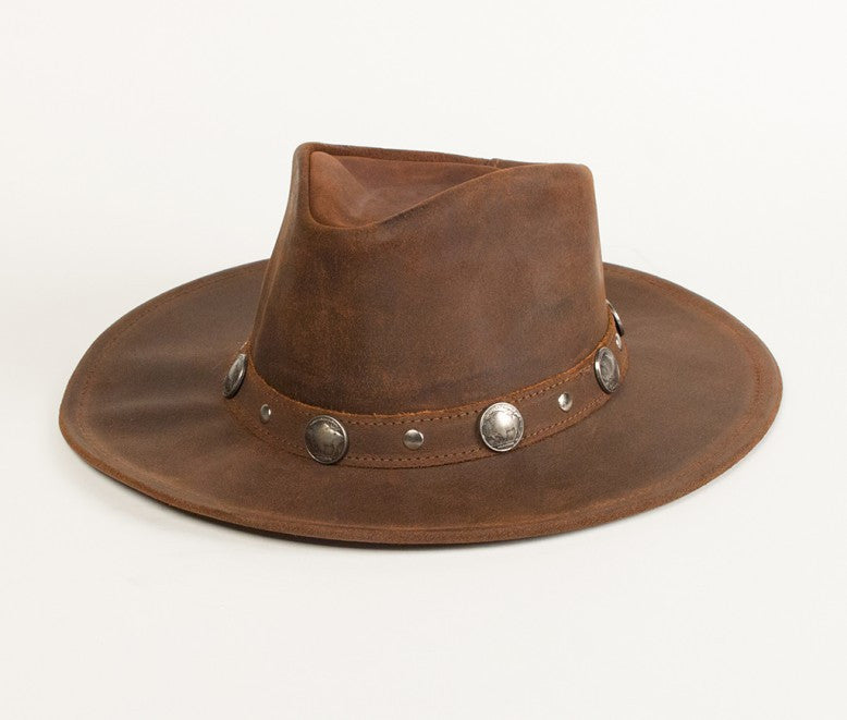 Minnetonka Leather Hat #9513