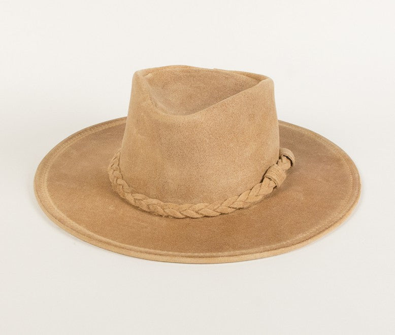 Minnetonka Leather Hat #9501