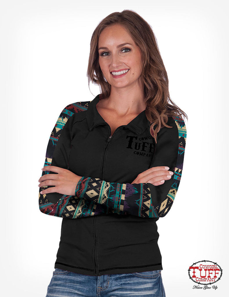 Women's Cowgirl Tuff Arena Track Jacket #H00590