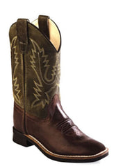 Youth's Old West Western Boot #BSY1877 (3.5Y-7Y)