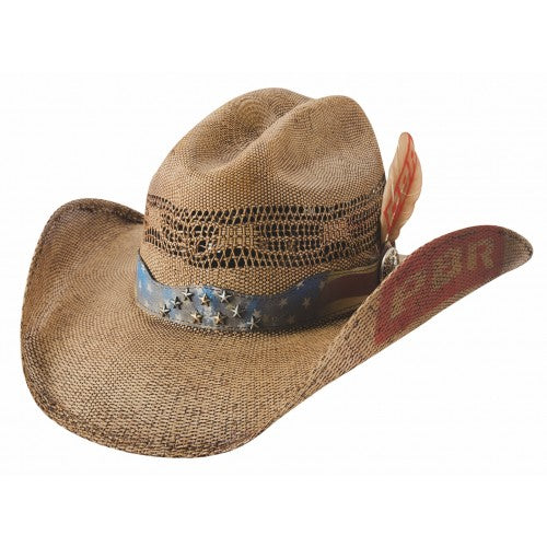 Bullhide Bucking Chute Straw Hat #5030