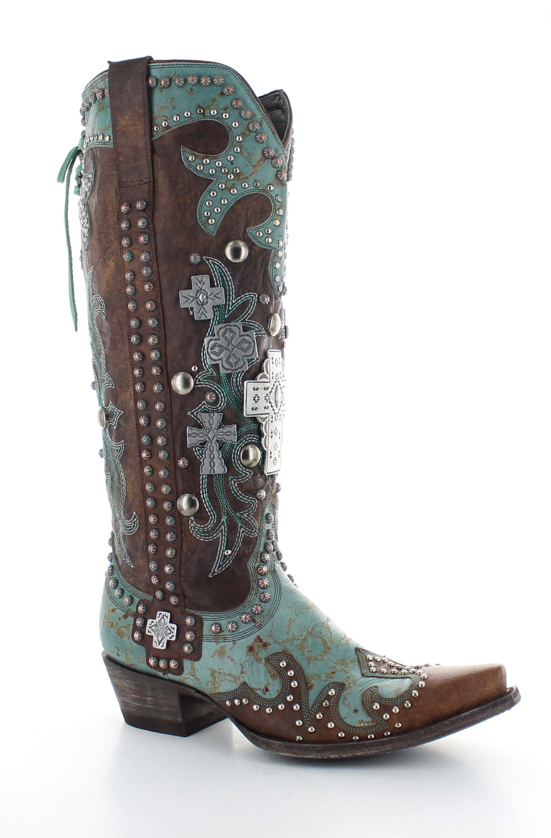 Women's Double D Ranch by Old Gringo Ammunition Boot #DDL001-1