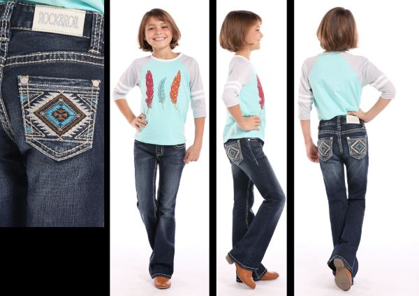 Girl's Rock & Roll Cowgirl Jean #G5-7688