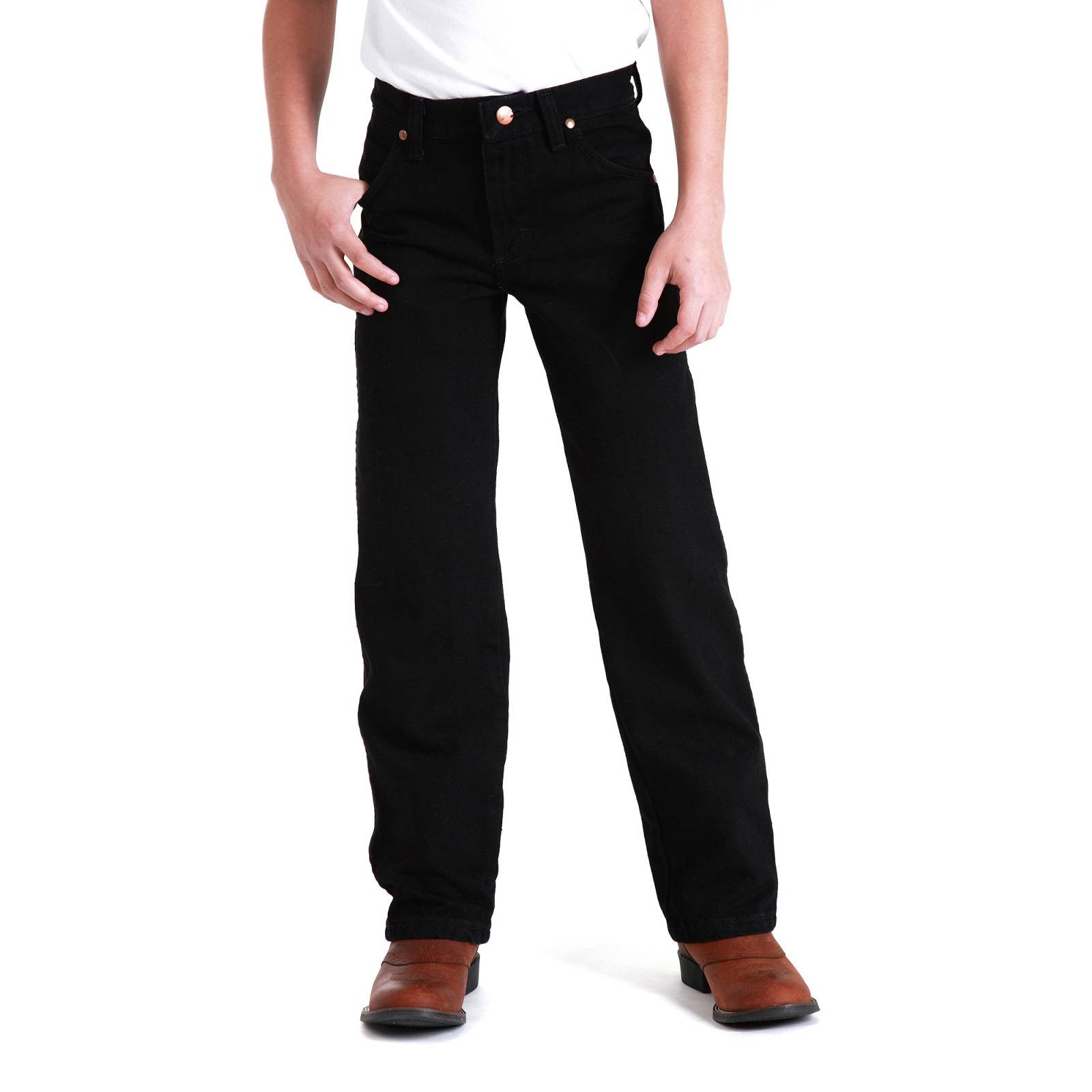 Boy's Wrangler Cowboy Cut Original Fit Jean #13MWBBK (8-16)