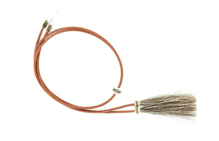 Leather Stampede String with Pins #0295302