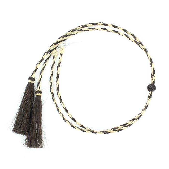 Braided Horsehair Stampede String with Pins #0296248
