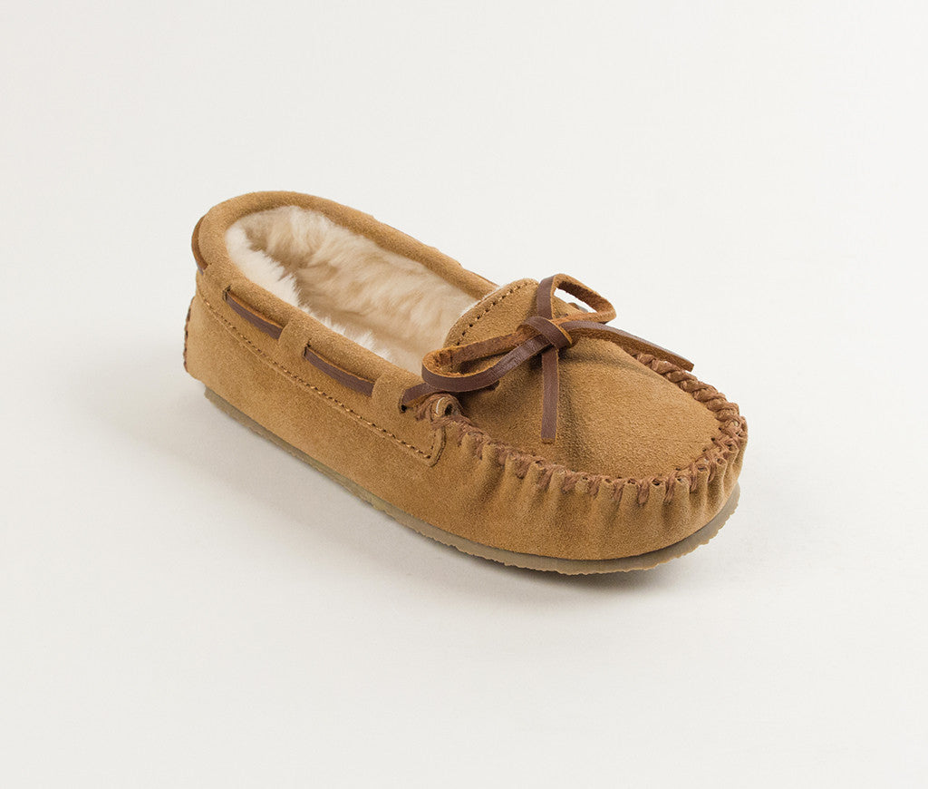 Children's Minnetonka Cassie Slipper #4811