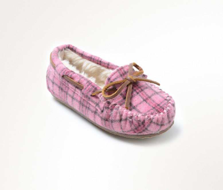 Children's Minnetonka Cassie Slipper #4905
