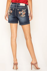 Women's Miss Me Bermuda Shorts #M3352D