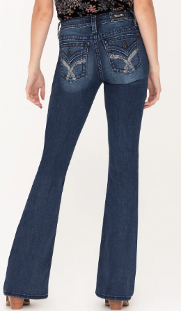 Women's Miss Me Waterfall Flare Jean #M3444F17
