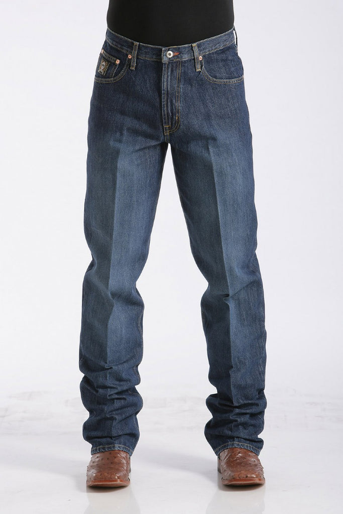 Men's Cinch Loose Fit Black Label Jeans #MB90633002IND