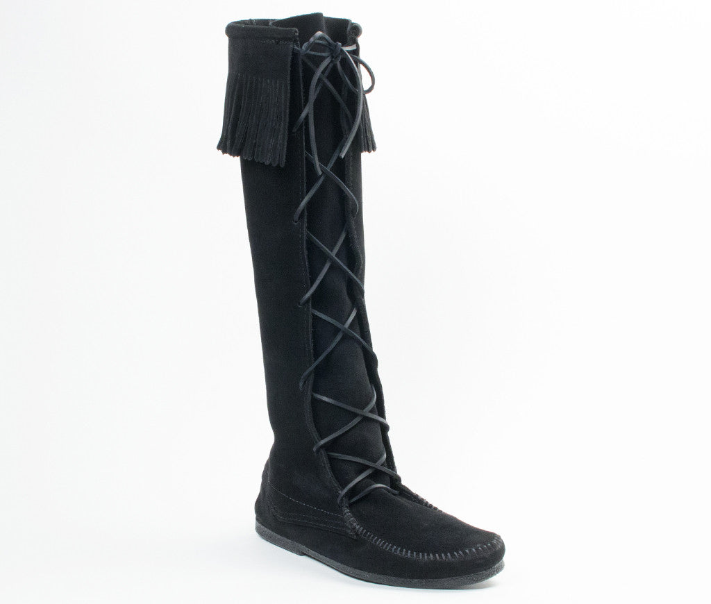 Men's Minnetonka Front Lace Knee Hi Boot #1929