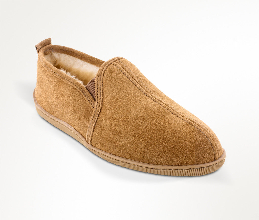 Men's Minnetonka Twin Gore Sheepskin #3731