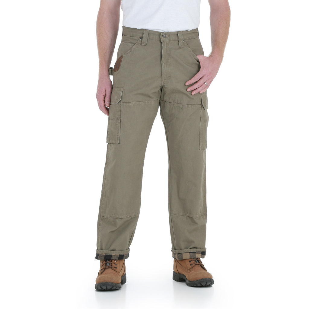 Men's Wrangler Riggs Workwear Lined Ranger Pant #3W065BR (Big and Tall)