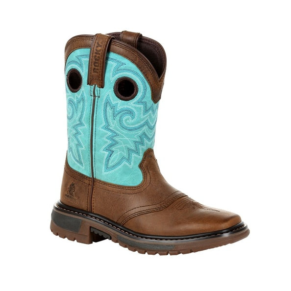 Youth's Rocky Original Ride FLX Western Boot #RKW0299Y (3.5Y-7Y)
