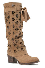 Women's Miss Macie It's A Wrap Boot #U2003 (This Boot Can Be Worn 3 Ways!)